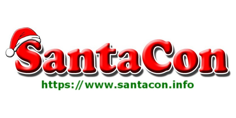 Image result for pictures of santa at santa con